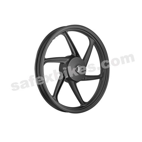 Alloy Wheel Set For Shine Black Genuine Type Kingway Motorcycle Parts For Honda Dream Yuga Honda Shine In 2020 Motorcycle Parts Alloy Wheel Motorcycle