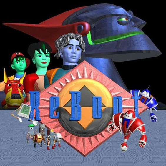 Reboot 90s cartoon