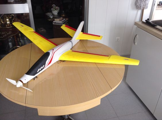 My Modified Rc Glider Air Hogs Titan 1 2 M Wing Span