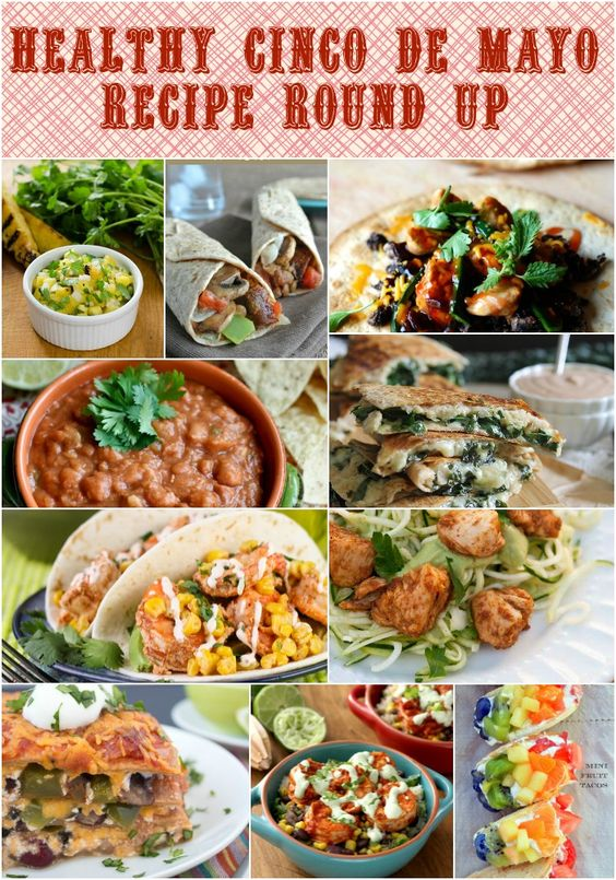 Love finding all these delicious & Healthy Mexican recipes. Healthy Cinco De Mayo Recipe Round Up Low Calorie, Low Fat Mexican recipes to make at home