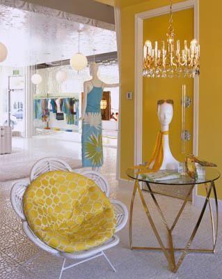 Trina Turk's Palm Springs boutique designed by Kelly Wearstler