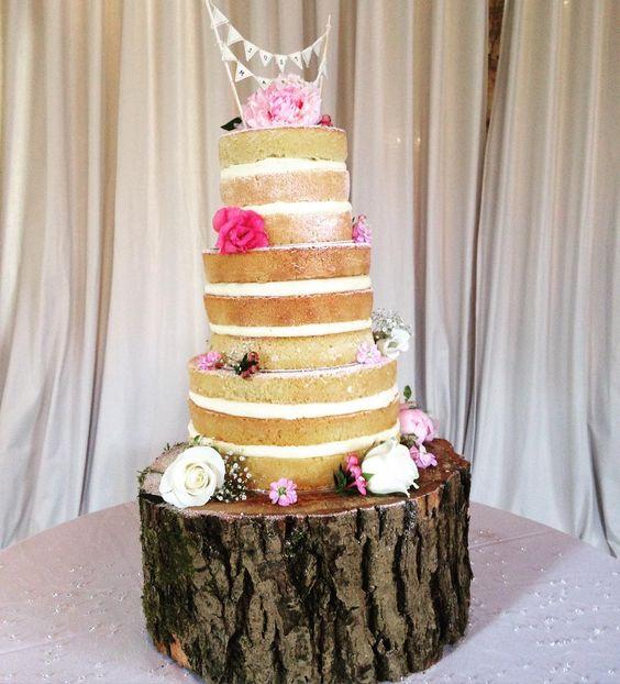 Happy Wedding Day to Eleanor & Daniel your cake looks super yummy! #weddingday #wedding #weddingideas #wedding #weddingcake #nakedcake #victoriasponge #brideandgroom #clockbarn #hampshireweddingvenue #theclockbarn #barnwedding #cake #weddinginspiration #Alamango #Bridal #Textiles #Wedding #AlamangoBridal #AlamangoTextiles #Malta #LoveMalta #Bridesmaid #WeddingDress
