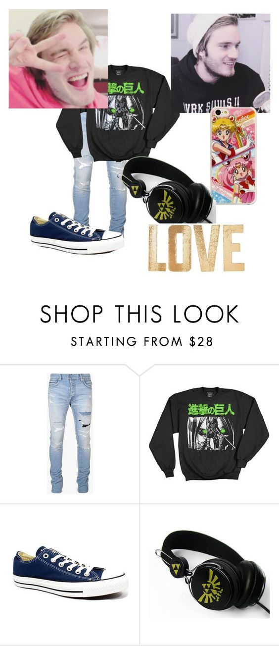 """Untitled #71"" by kawaiirasberrytea on Polyvore featuring Balmain, Converse, Samsung, PBteen, men's fashion and menswear"