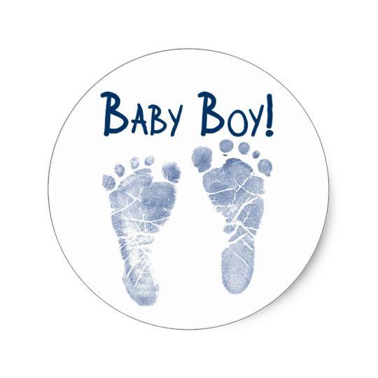 It S A Baby Boy Classic Round Sticker Zazzle Com In 2021 Boys Sticker Baby Elephant Drawing Welcome Baby Boys