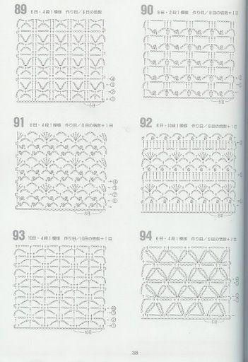 bordes crochet para mantas Y MUESTRARIO DE PUNTOS - Isabel Cristina Mejia - Álbuns da web do Picasa