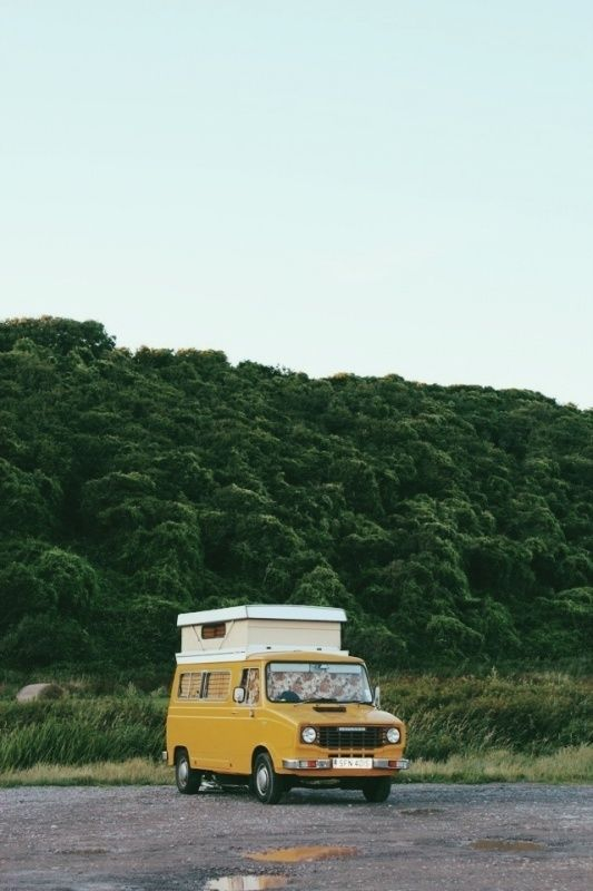 camper van / photo by Rachael Hayes...for my eventual cross country road trip