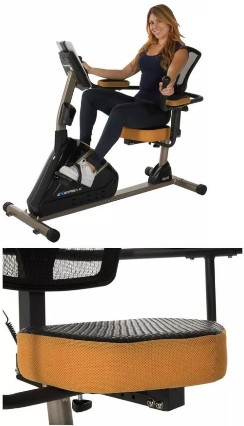 Exercise Bikes 58102 Replacement Seat Exerpeutic 4000 Magnetic Recumbent Bike 1115 Buy It Now Only Best Exercise Bike Recumbent Bike Workout Biking Workout