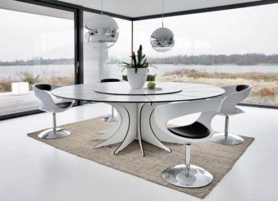 Contemporary Futuristic Dining Room Furnituredesigns Luxury