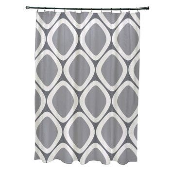 FREE SHIPPING! Shop AllModern for Brayden Studio Schacher Geometric Shower Curtain - Great Deals on all  products with the best selection to choose from!