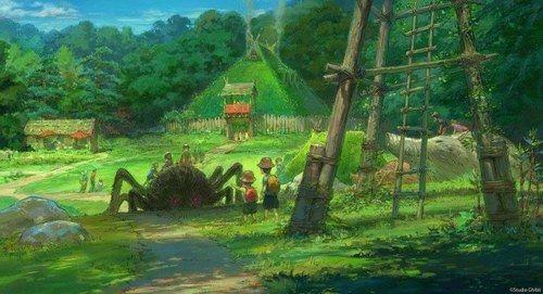 写真6 24 ジブリパーク 愛知に22年秋開業 千と千尋の神隠し 不思議の街 ハウルの城やタタラ場を再現 Studio Ghibli Ghibli Ghibli Museum