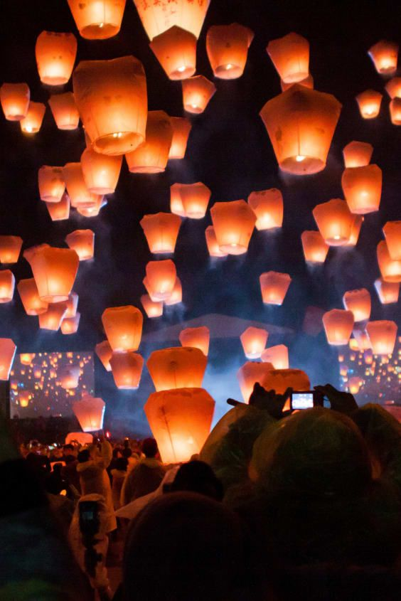 "Check out ""Pingxi Sky Lantern Festival"" in Taiwan"