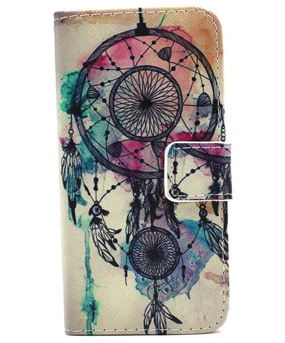 Wind Bell iPhone 6S/6 Wallet Stand PU Leather Case