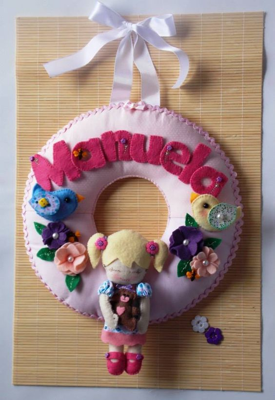 Enfeite Porta de Maternidade