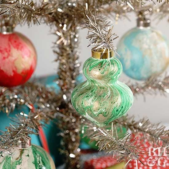 We Still Love Marbeling At Christmas Christmas Ornaments Homemade Christmas Ornaments To Make Christmas Ornament Crafts