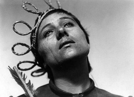 Renee Falconetti in The Passion of Joan of Arc (1928)