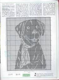Resultado de imagem para graficos de croche file cachorro