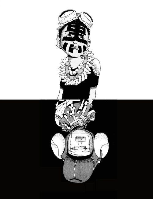 black and white taiyo matsumoto - Pesquisa Google