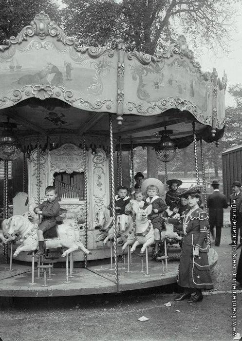 Луна-парк, Париж 1910г.
