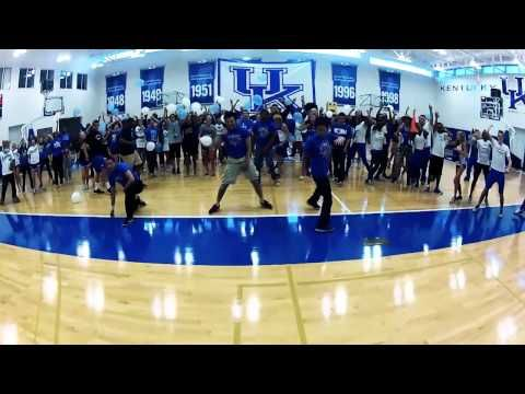 Our amazing University of Kentucky student athletes made this video in one shot!  Check it out! :)