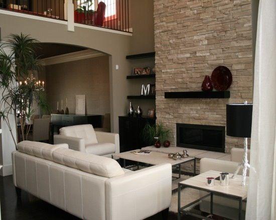 Magnifique mur en brique d int rieur salon pinterest for Brique interieur decorative