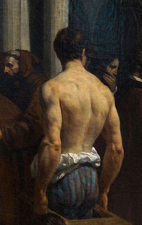 Alexandre-Jean-Baptiste Hesse, Funerary Honours Rendered to Titian (detail) on ArtStack #alexandre-jean-baptiste-hesse #art