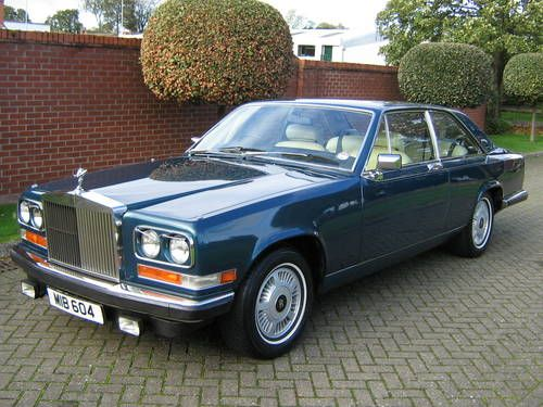 ROLLS ROYCE CAMARGUE (1980). Lovingly hideous and anacronistic - like a beloved professor.