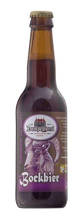 Dampegheest Bockbier is onze herfstbok. Een stevig donker robijnrood bovengistend bier van 7%. Dit bokbier heeft door toevoeging van versgebrande mout een aromatische, moutige en karamelachtige smaak. Als de avonden langer worden en de eerste bladeren van de bomen vallen is dit heerlijk bier om van te genieten. Wat is lekkerder dan na een lange herfstwandeling je op te warmen bij openhaard of kachel onder het genot van een Dampegheest Bockbier. Een donker aromatisch bier moet het liefst…