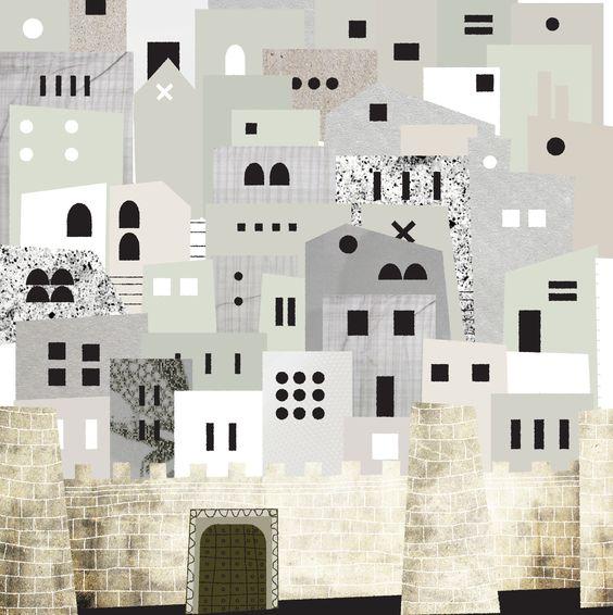 La ciudad de Saa (Muralla)