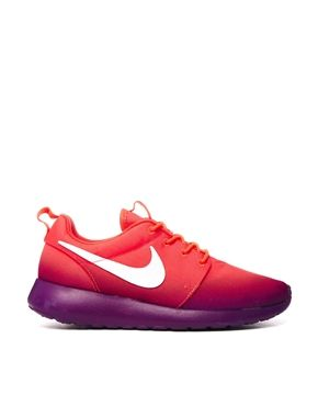 Nike Purple Two Tone Rosherun Print Trainers