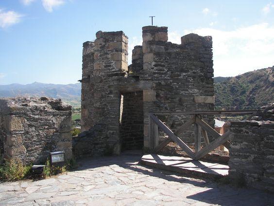 Almena del Castillo de Ponferrada.