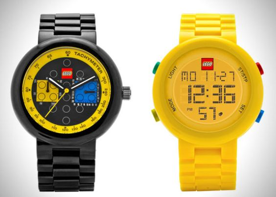 Des montres Lego pour les grands enfantsIl etait une pub – Le blog d'actualite publicitaire