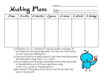 Worksheets Ir A Infinitive Worksheet ir a infinitive worksheet delibertad delibertad
