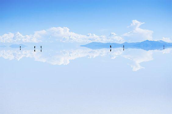 Unvorstellbar schön: Salar de Uyuni, Bolivien