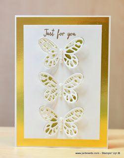JanB Handmade Cards Atelier: Washi Tape Butterflies