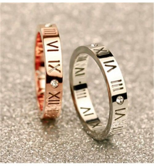 Roman Numeral Ring Fashion Goals Pinterest