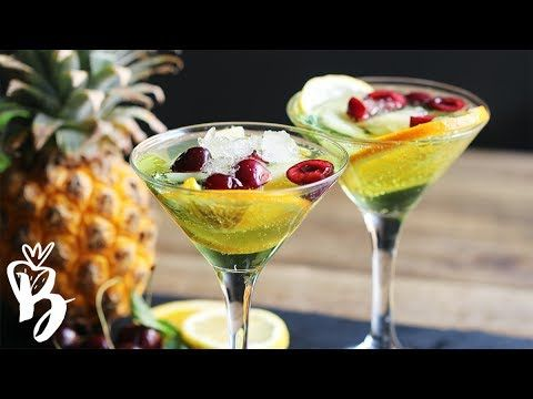 موهيتو الفواكه اللذيذ مشروبات الصيف Tropical Fruit Mojito Youtube Mint Mojito Strawberry Mojito Cocktail Illustration