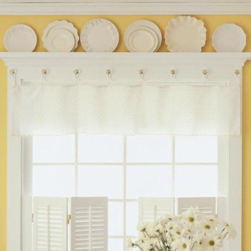 Kitchen Window Display: Perfect For The Window! White