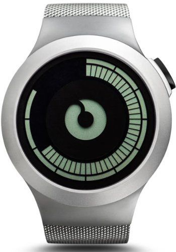 ZIIIRO Watch - Saturn - Chrome by Ziiiro Watches