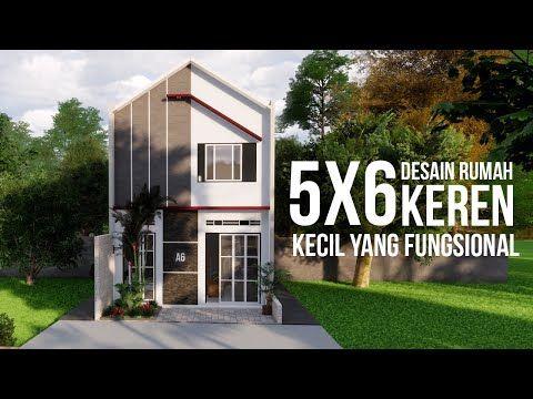 Rumah Kecil 5x6 Design Minimalis Modern Youtube Rumah Arsitektur Modern Rumah Kecil Rumah Hotel room design 4x6 desain