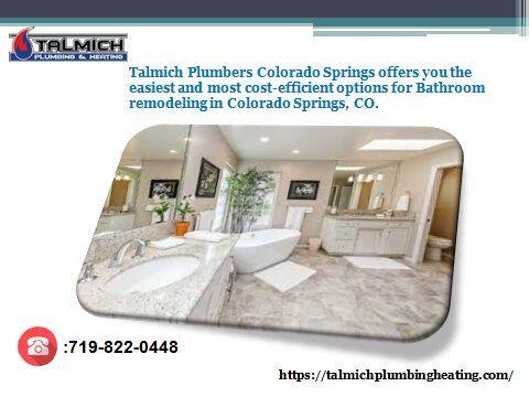Talmich Plumbing Heating Is Always, Bathroom Remodel Colorado Springs Cost