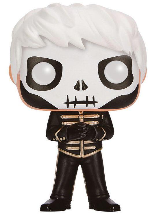My Chemical Romance POP! Rocks Vinyl Figur Skeleton Gerard Way 9 cm