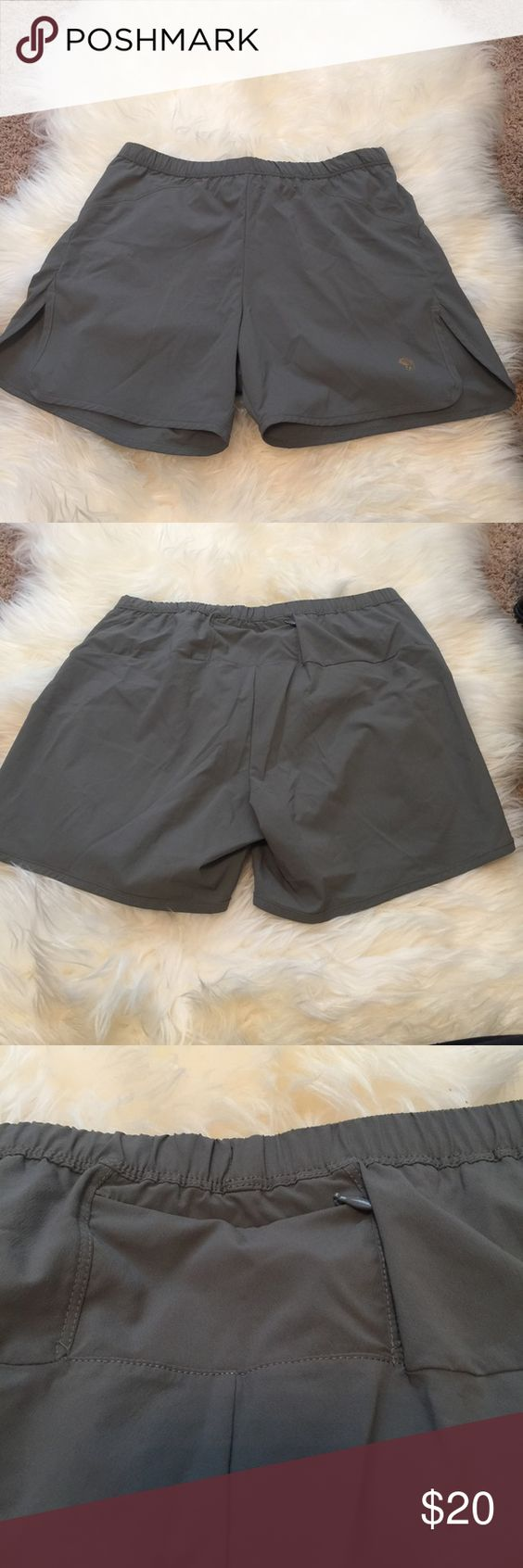 Mountain hard wear Hiking shorts Brand new/ never worn hiking shorts with breathable zipper vent in back. Mountain Hard Wear Shorts