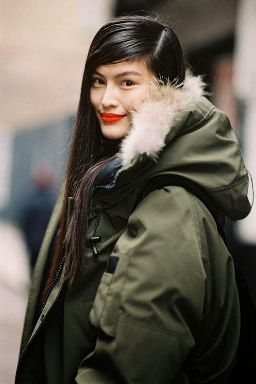 New York Fashion Week AW 2013....Sui He - Vanessa Jackman