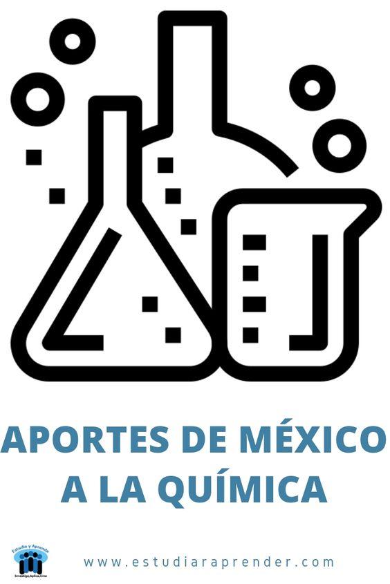 aportes de quimicos mexicanos