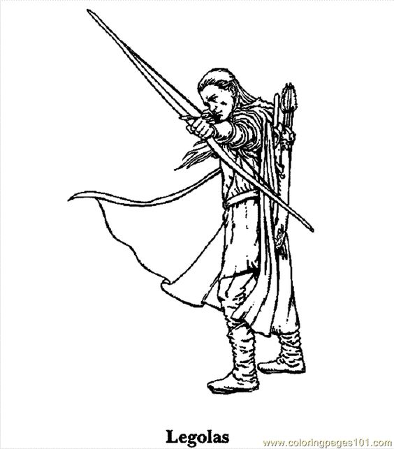Lord Of The Rings Coloring Pages | free printable coloring page ...