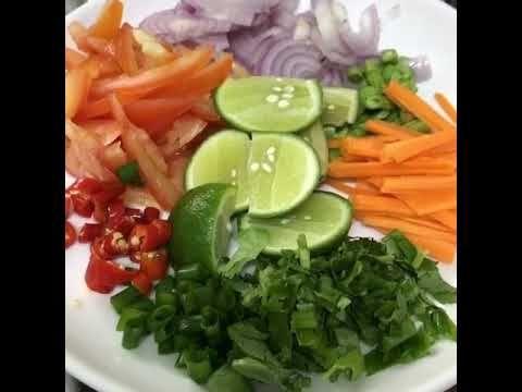 Kerabu Maggi Thai Youtube Malaysian Food Maggi Recipes
