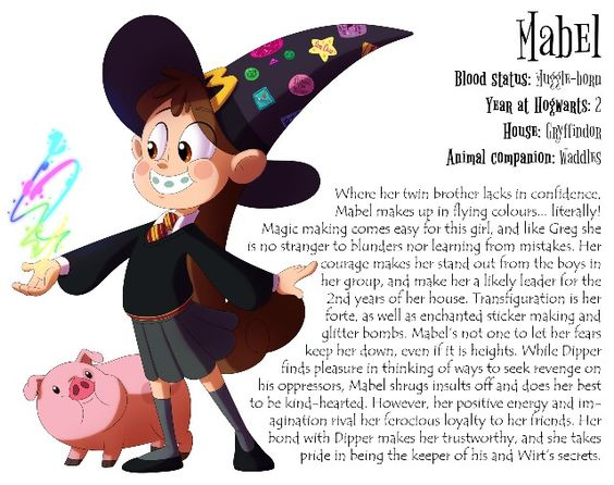 Gravity Falls X Harry Potter