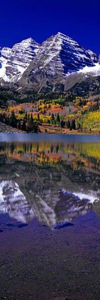 Maroon Bells, Colorado, by Peter Lik