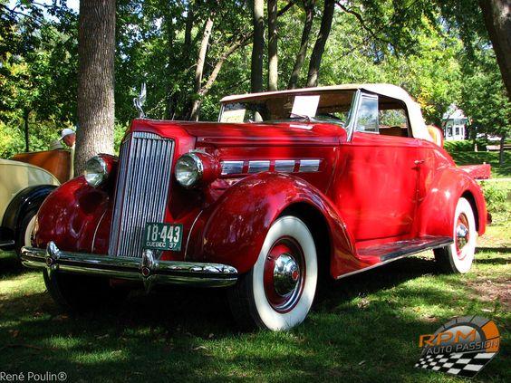 packard 37 Exposition de voitures anciennes Terrebonne