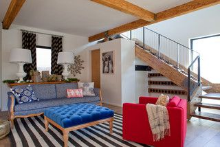Bright Eclectic Living Room - eclectic - living room - san francisco - by California Home + Design
